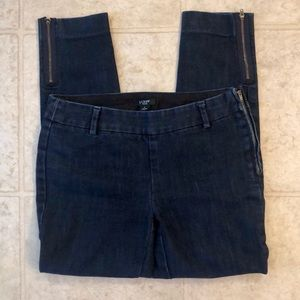J.Crew stretch city fit size 0 cropped jeans